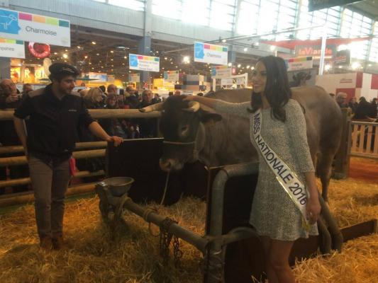SIA 2016 PIERRE SILLAC ET MISS FRANCE